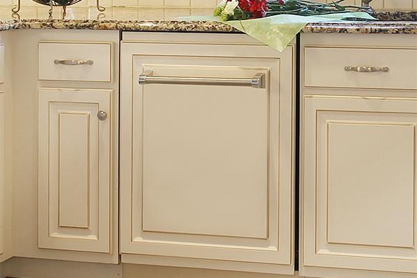 White Kitchen Appliance Drawer