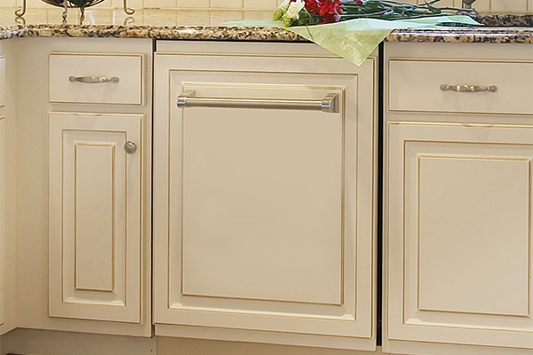 White Kitchen Appliance Drawer