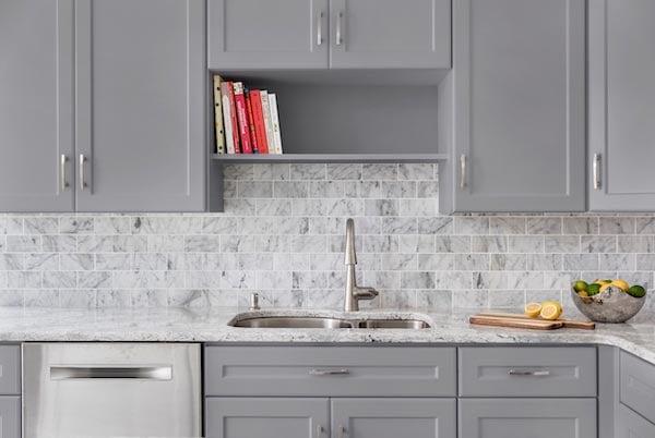 fade gray kitchen design