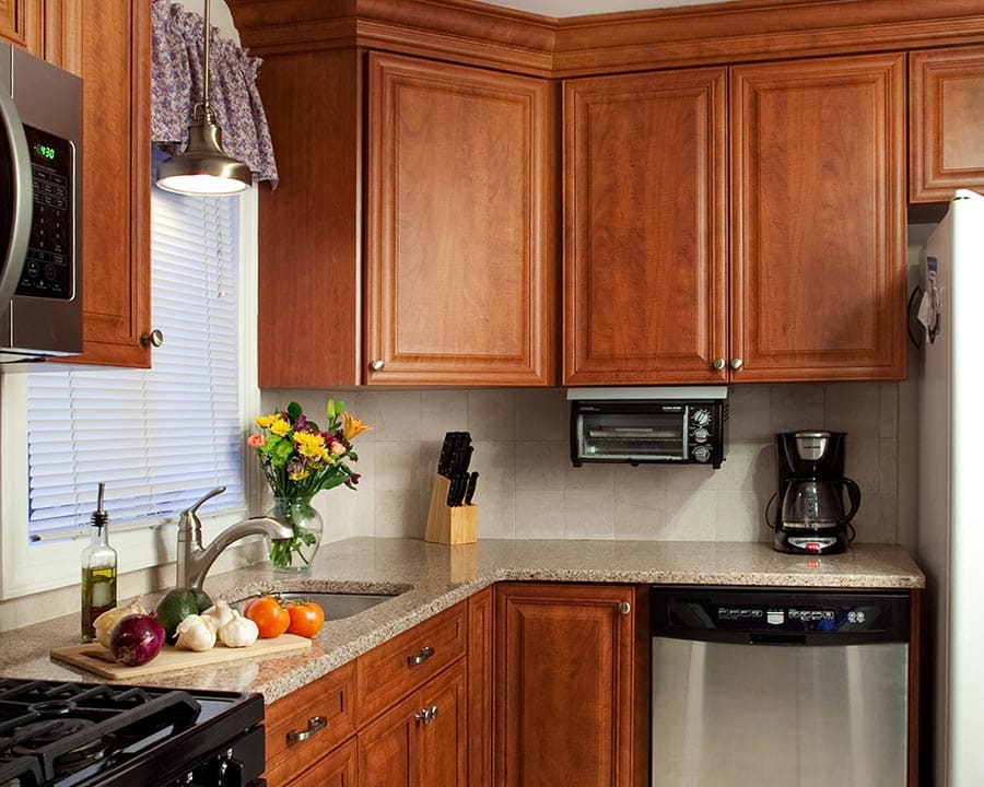 Cherry Fruitwood Kitchen Cabinets
