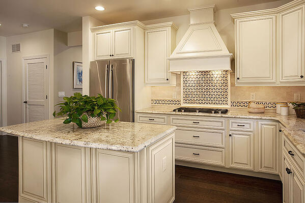 Glazed Cabinets Add Traditional Depth Dimension To Any Kitchen