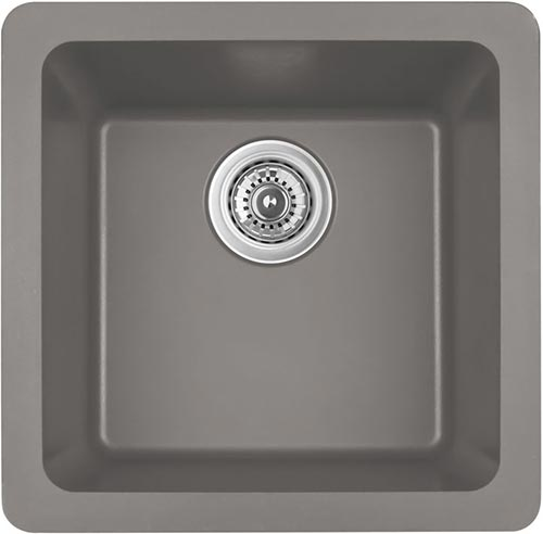 grey quartz kitchen sink