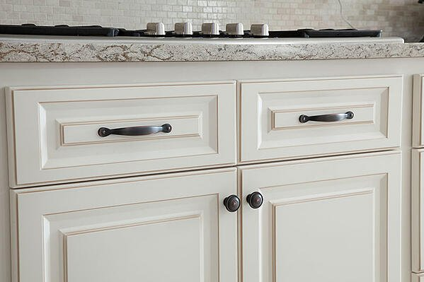 Oil Rubbed Bronze Handles And S On White Cabinets