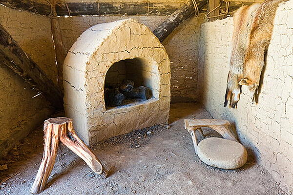 Ancient Kitchen and Hearth