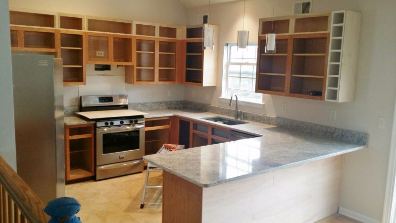 Install Countertop Before Cabinets