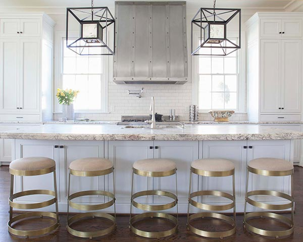 Kitchen Design with Mixed Metal Finishes