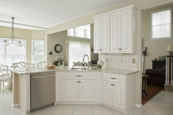 White Kitchen with Natural Light