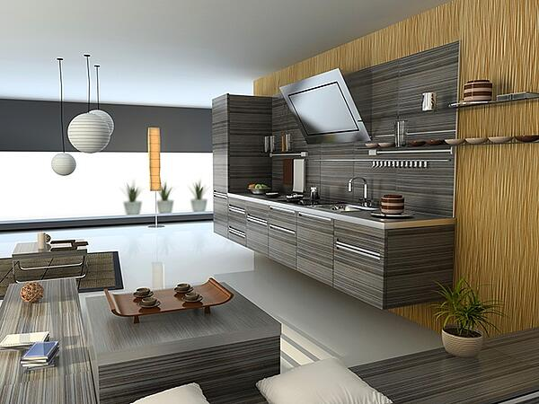 Modern Kitchen from Japan
