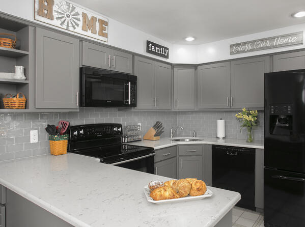 matte finished kitchen
