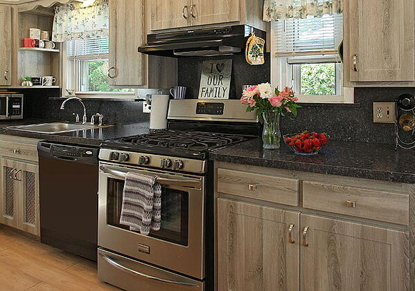 Laminate Countertop and Sheet Backsplash