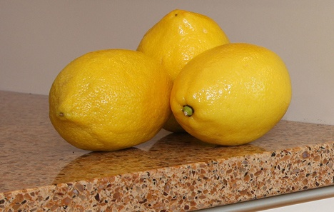 Lemons to Clean the Oven