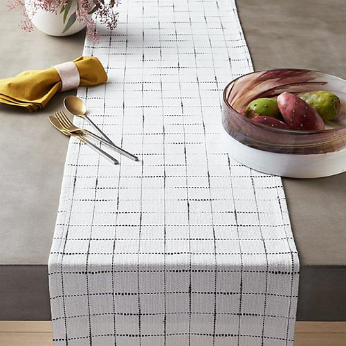 kitchen linen table runner