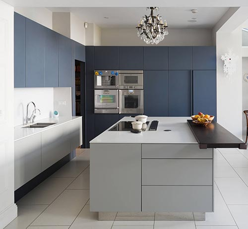 Matte kitchen cabinets