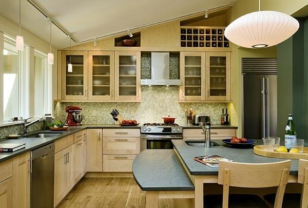 maximalist kitchen