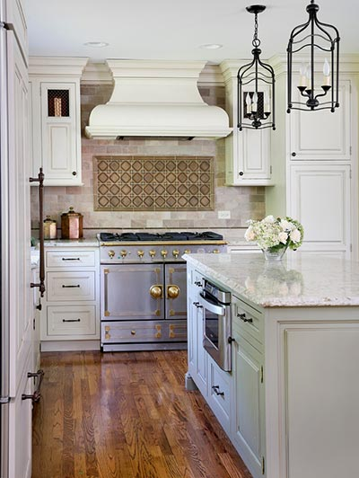 bronze, copper and brass in the kitchen