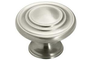 Inspirations Satin Nickel Ring Cabinet Knob