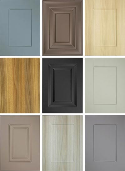 new cabinet colors