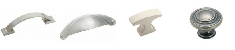 nickel cabinet hardware