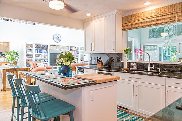 Open Concept Floor Plan Kitchen Design
