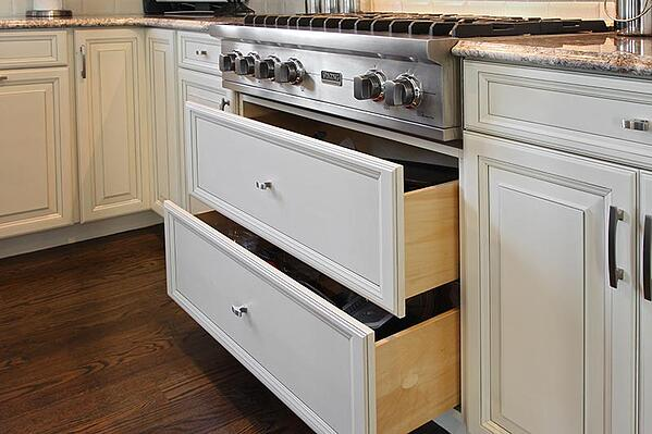 Kitchen Pot Drawer Cabinet Refacing