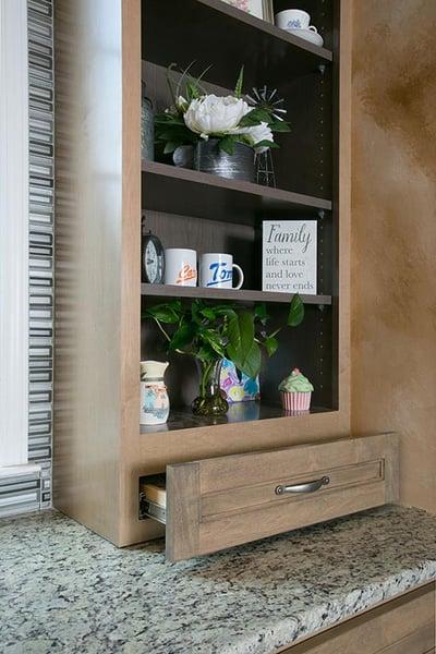 Kitchen Shelves and Storage