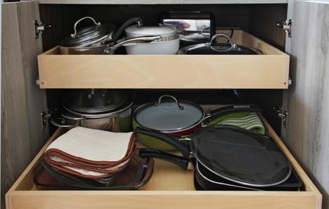 Reorganize Kitchen Cabinets