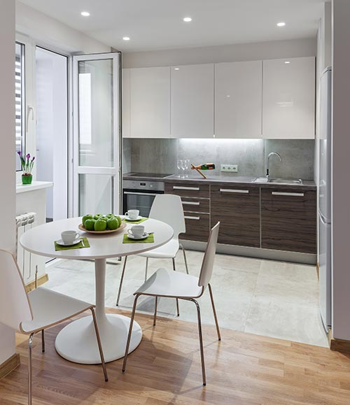 & Warm Up With The Scandinavian Kitchen Design Style