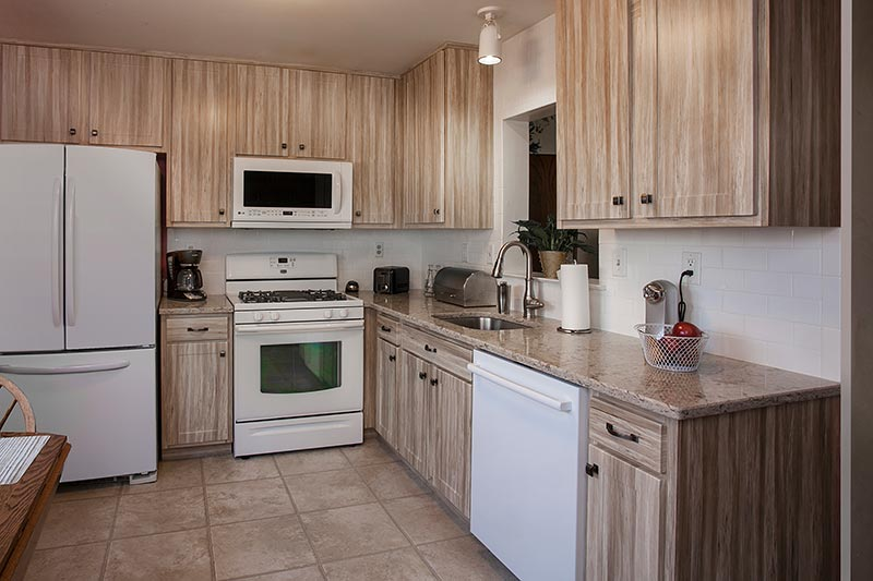 Rustic Kitchen After Remodel