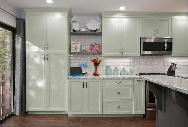 sea glass kitchen design