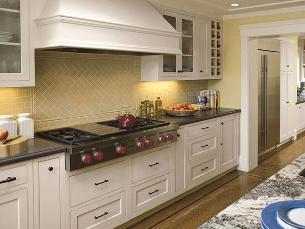 There S Something Fishy About The Herringbone Kitchen Pattern