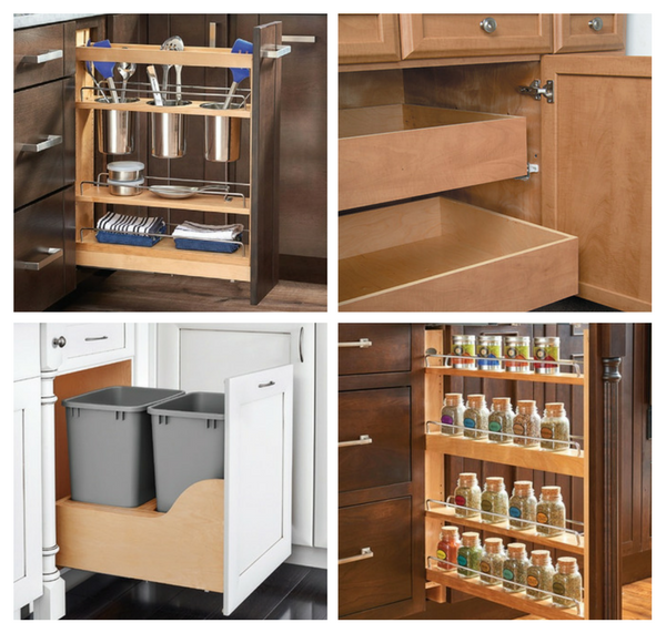 Solutions for Disorganized Kitchen Base Cabinets
