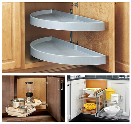 Solutions for Blind Corner Kitchen Cabinets