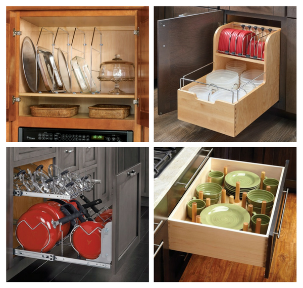 Solutions for Cluttered Cabinets
