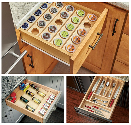 Messy Kitchen Drawer: Kitchen Space Saving Solutions For Small Situations