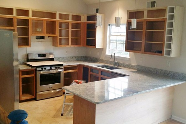 Kitchen Remodel For Taller Cabinets