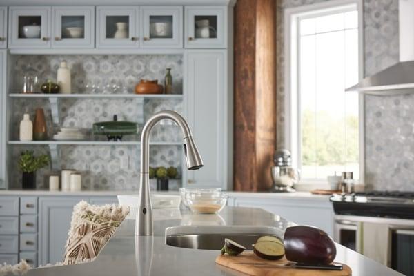 Motionsense Moen Faucet for Kitchen Sink