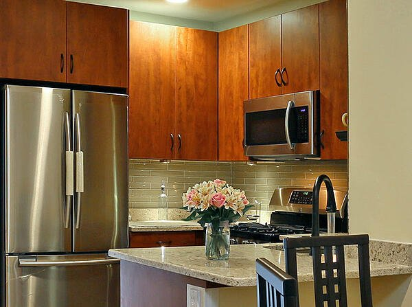 Cordovan Painted Kitchen Cabinets