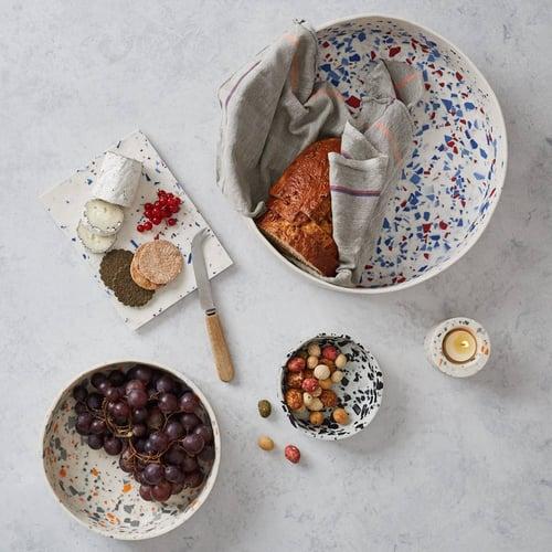 terrazzo kitchen bowls