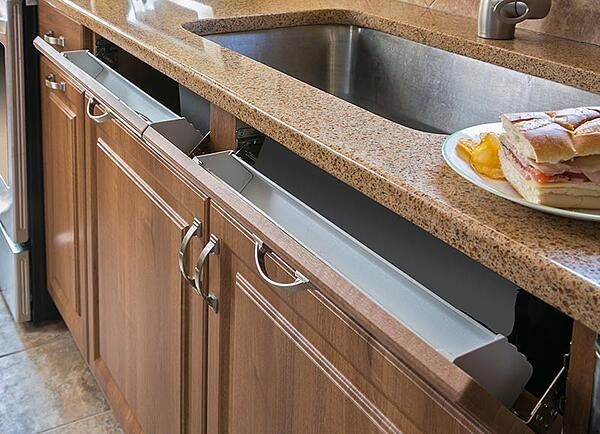 Kitchen Storage Tip Out Tray