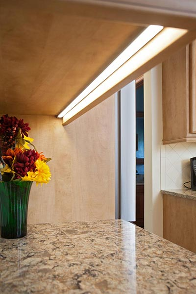 Under Cabinet Lighting Is A Bright Idea
