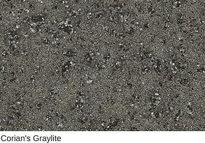 Corian in Graylite