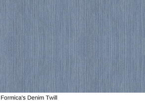 Formica Countertop in Denim Twill