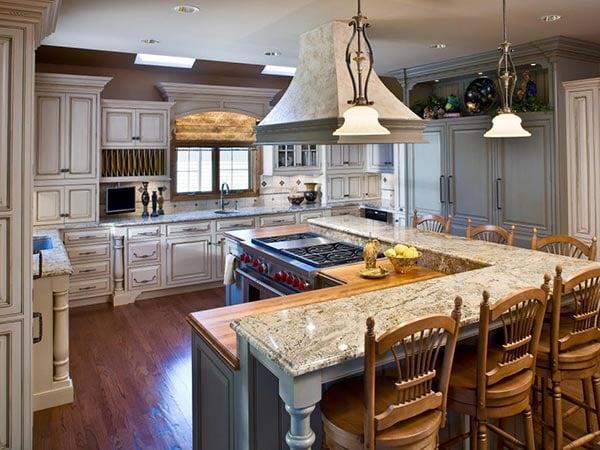 Zone Kitchen layout