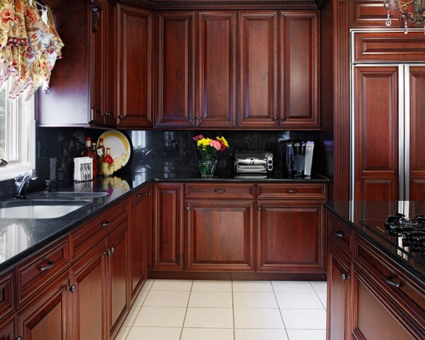 Actual Kitchen Refaced By Kitchen Magic