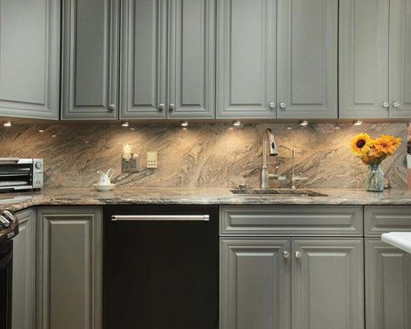 Granite Backsplash and Countertop