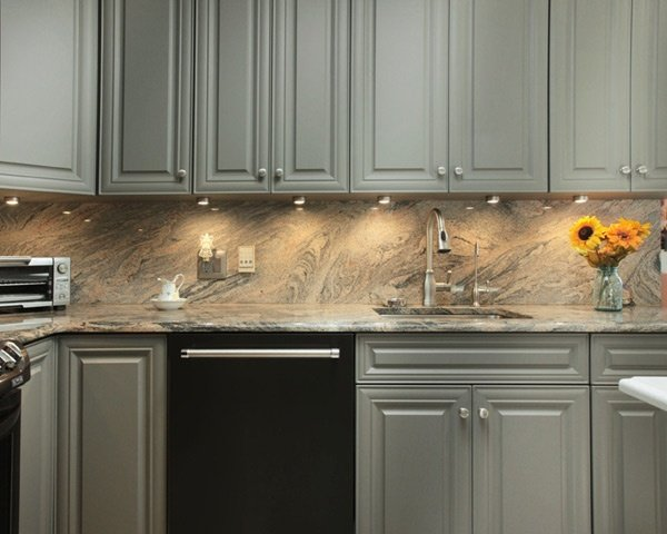 Granite Backsplash and Countertop