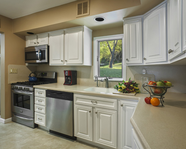 kitchen remodel with corian countertops