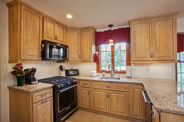small kitchen open design