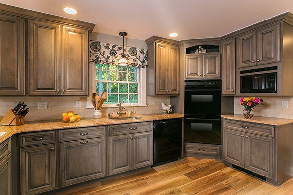 Kitchen with Furniture-Grade Cabinetry