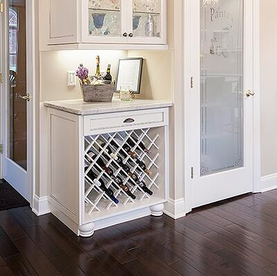 Add a Wine Cabinet in the Kitchen